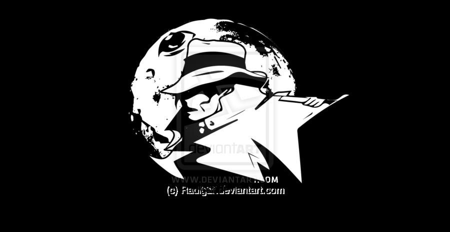 Michael Jackson\'s Moonwalker Logo.