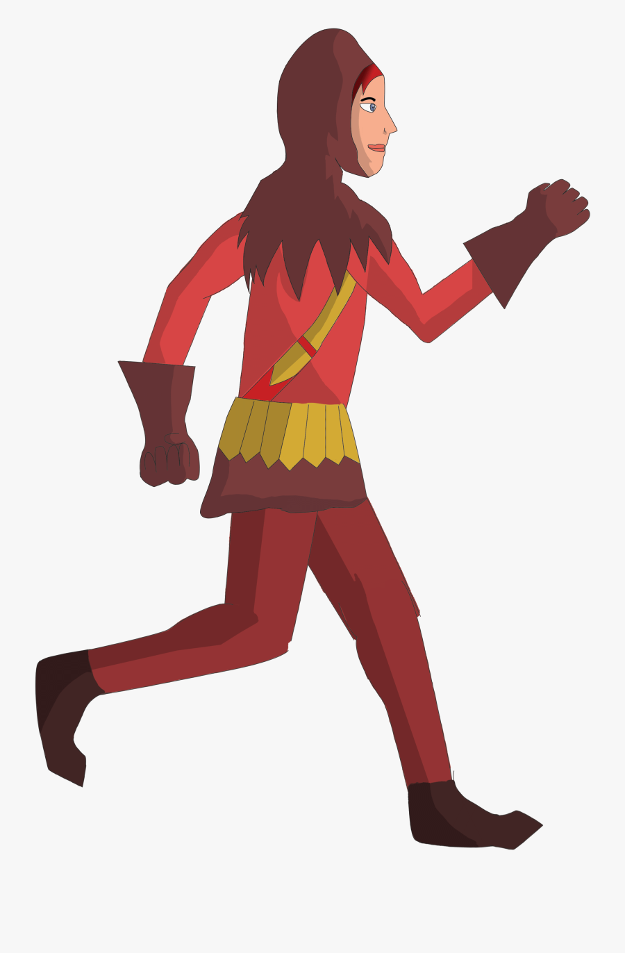 Clipart Walking Gif Animation.