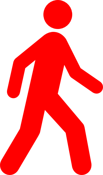 Walking Clip Art at Clker.com.