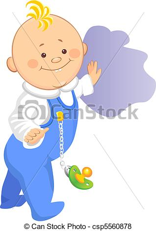 Walking baby clipart 6 » Clipart Station.