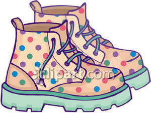 Walking Boots Clipart Clipground