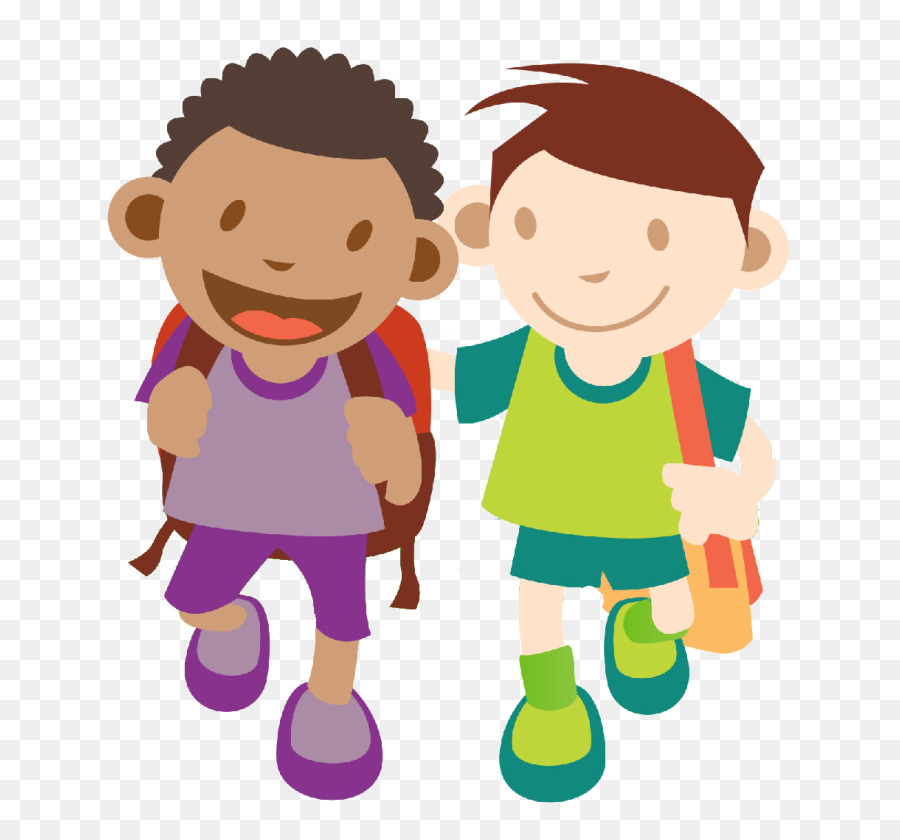 A Child Walking Clipart.
