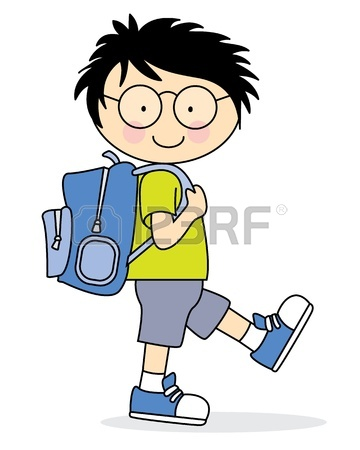 Child walking clipart 1 » Clipart Station.