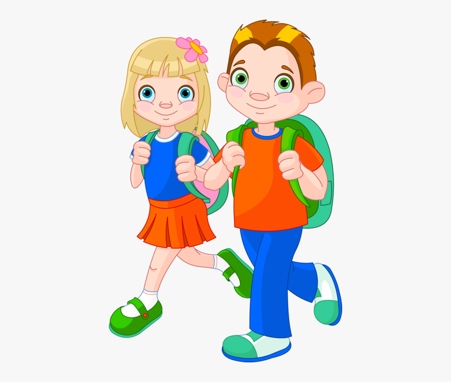 Clip Art Royalty Free Stock Clipart Boy And Girl.