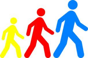 Clip Art Walking Club.