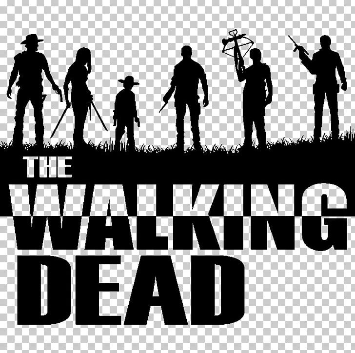 Daryl Dixon Negan Andrea The Walking Dead Silhouette PNG, Clipart.