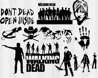 Walking Dead Clipart Clipground
