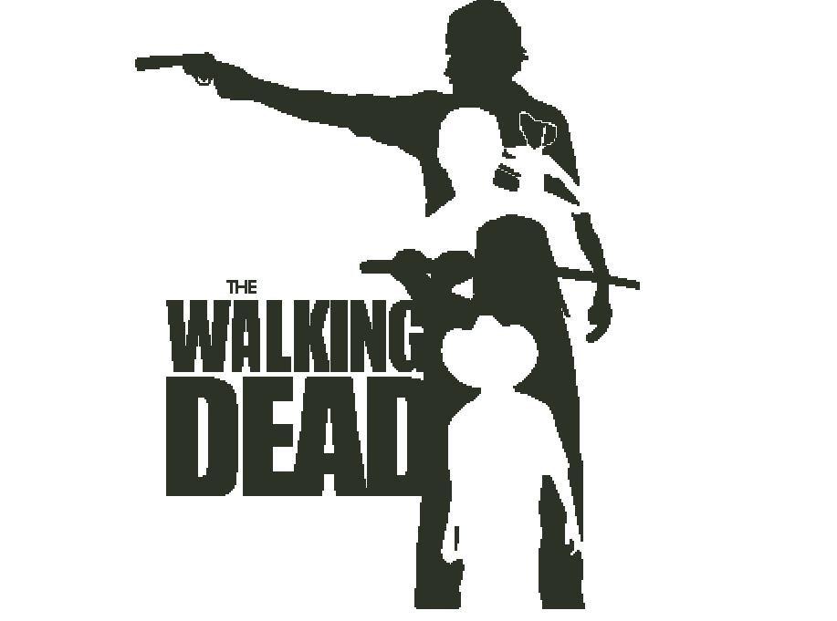 Walking Dead Silhouette.