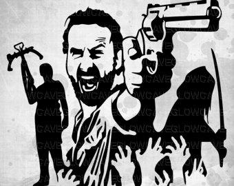 Walking Dead Clip Art.