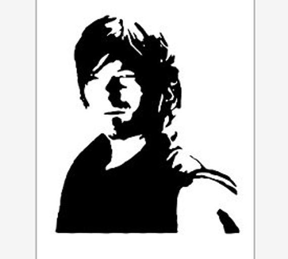 Walking Dead Vector Clipart pdf svg eps png dxf.