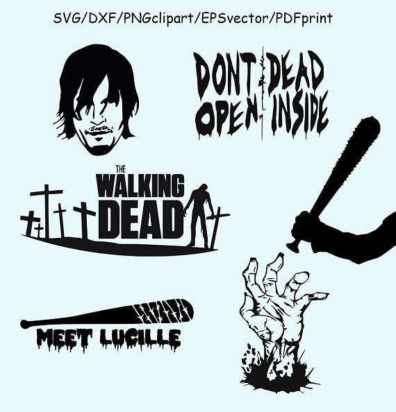 The walking dead clipart 3 » Clipart Station.
