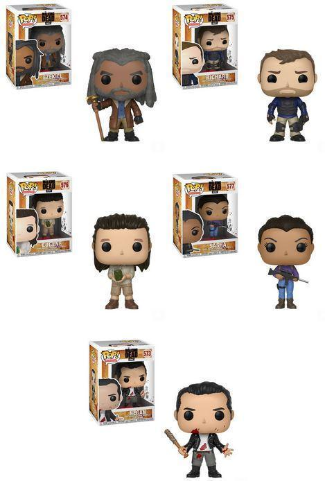 Funko POP! Walking Dead.