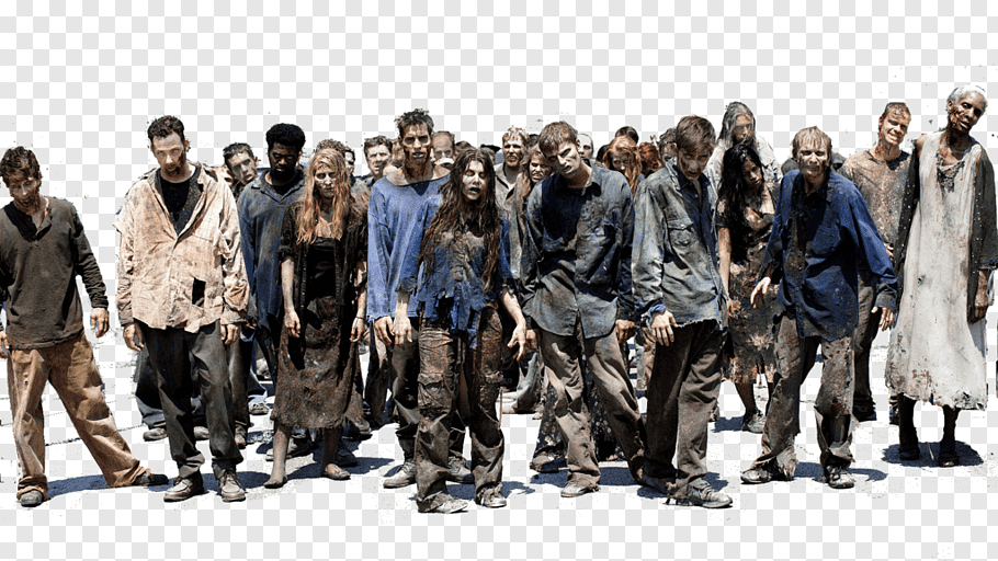 Zombies illustration, Television show YouTube AMC Zombie.