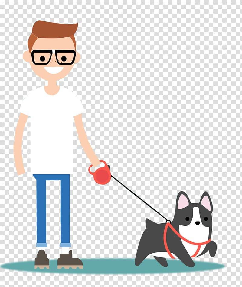 Dog walking Pet sitting Cat Leash, Dog transparent.