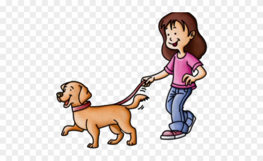 Pets Clipart Dog Walker.
