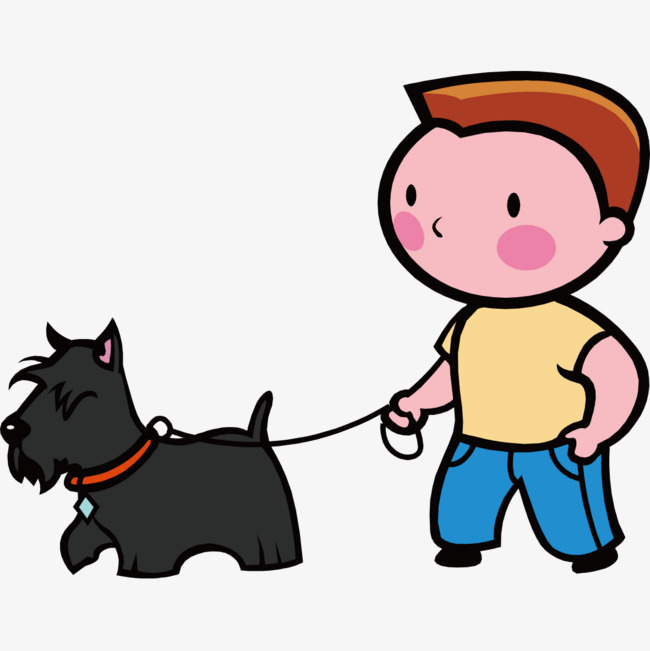 Walking dogs clipart 6 » Clipart Station.