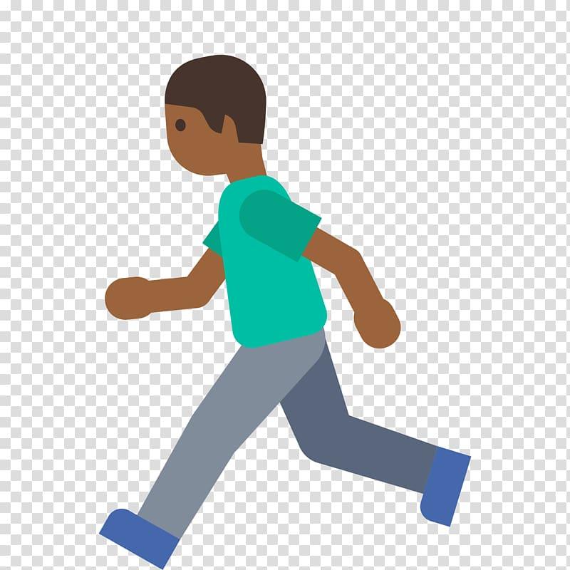 Running Emoji Walking Noto fonts WhatsApp, running man.