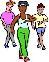 Clipart Walking Exercise & Clip Art Images #2360.