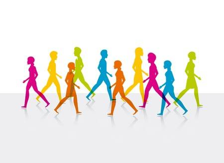9,421 Walking Exercise Stock Vector Illustration And Royalty Free.