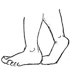 Walking Feet Clip Art.