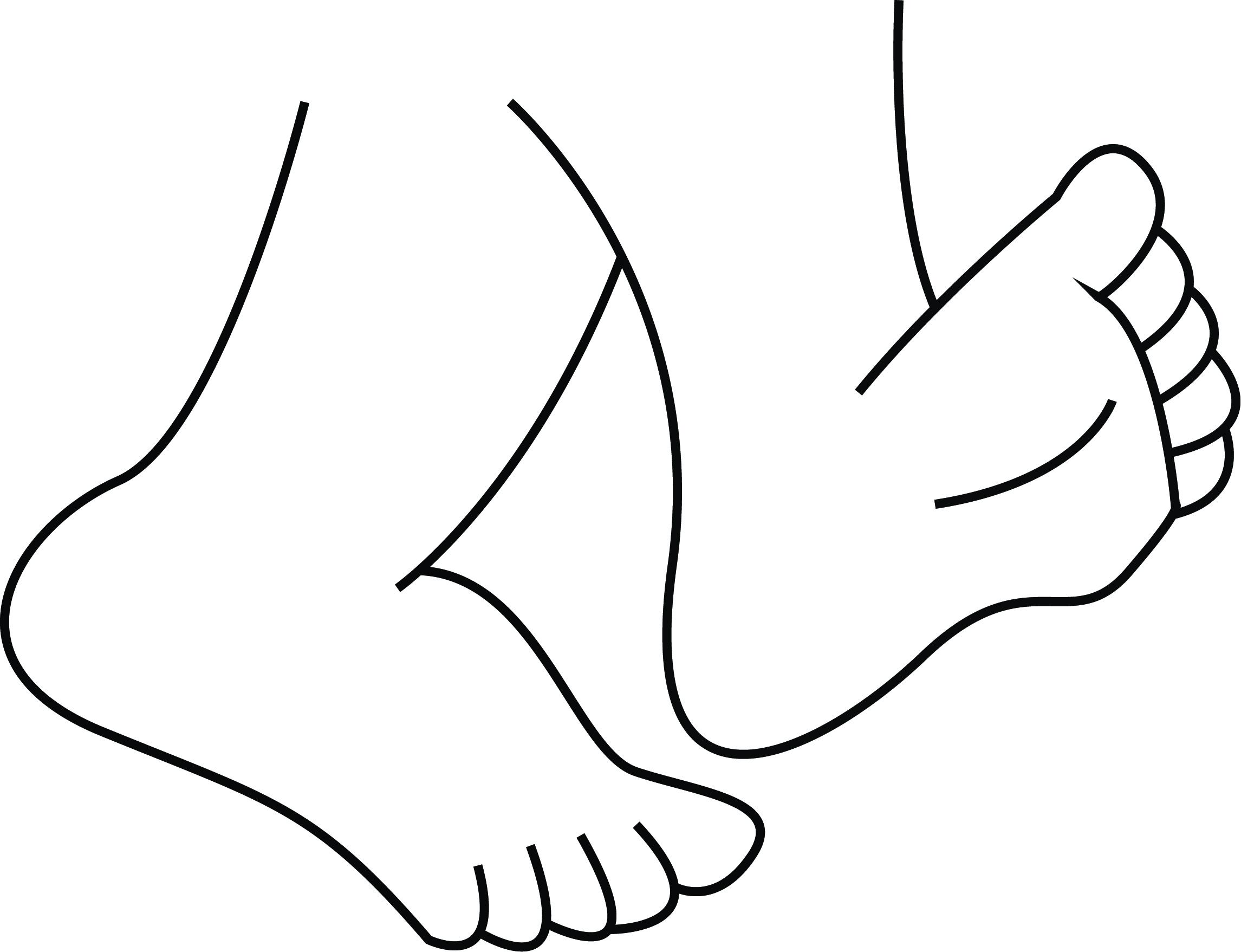285 Walking Feet free clipart.