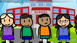 Classroom Rules and Procedures for Kindergarten.