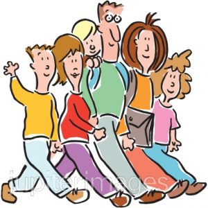Clipart walking walking group, Clipart walking walking group.