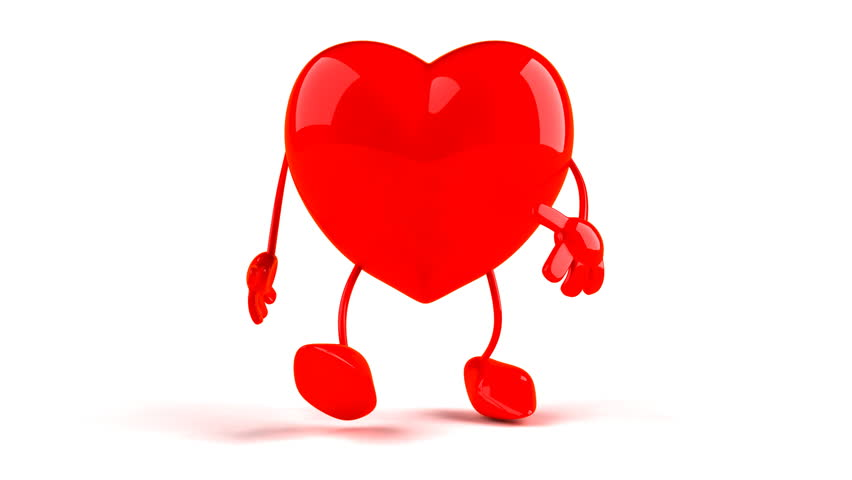 Dancing Heart Clipart.