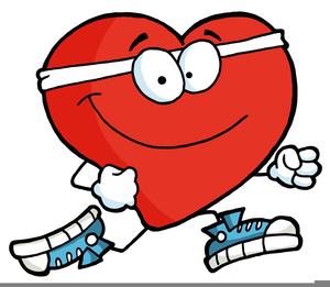 American Heart Walk Clipart.