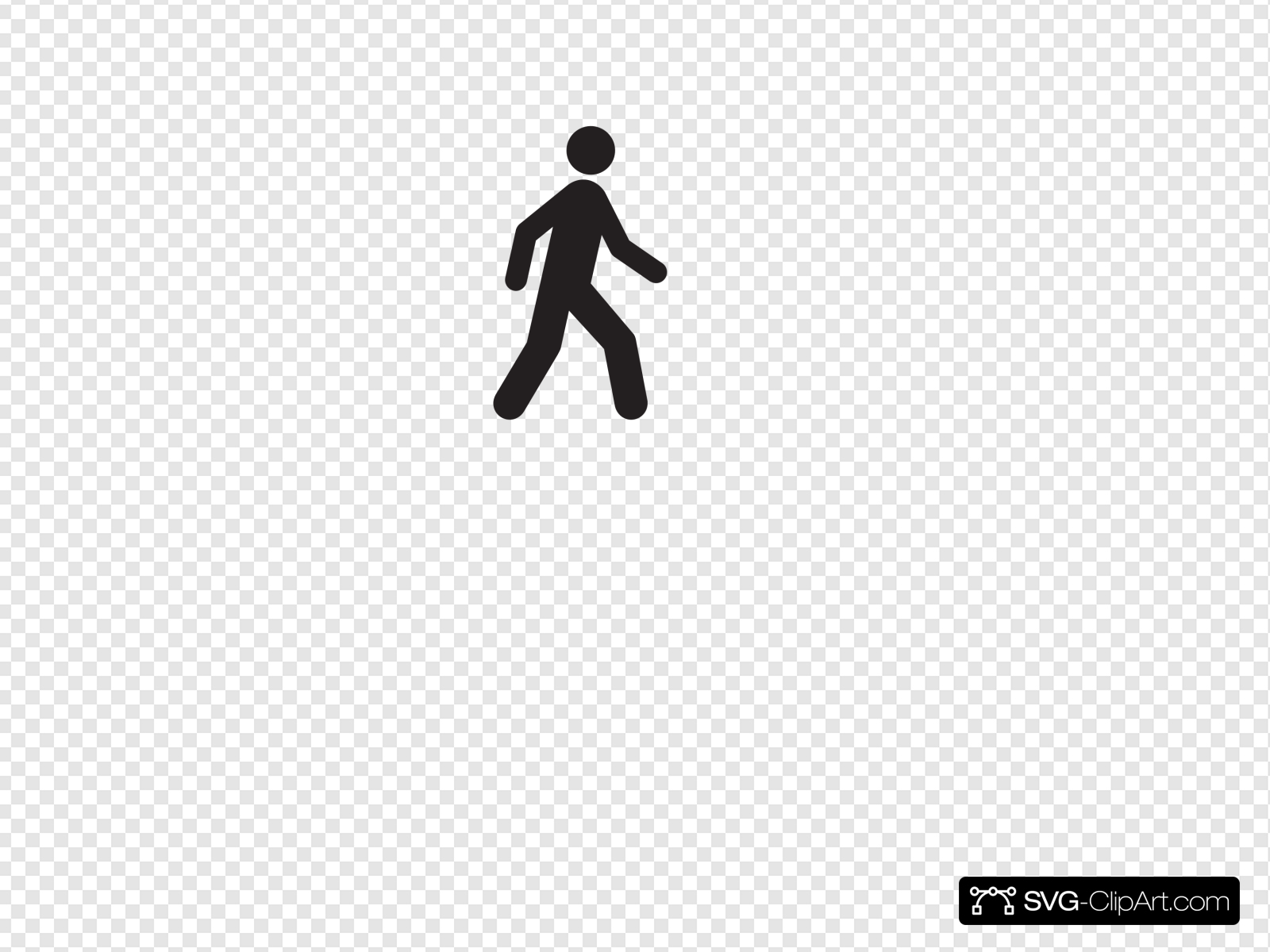 Walking Icon Clip art, Icon and SVG.