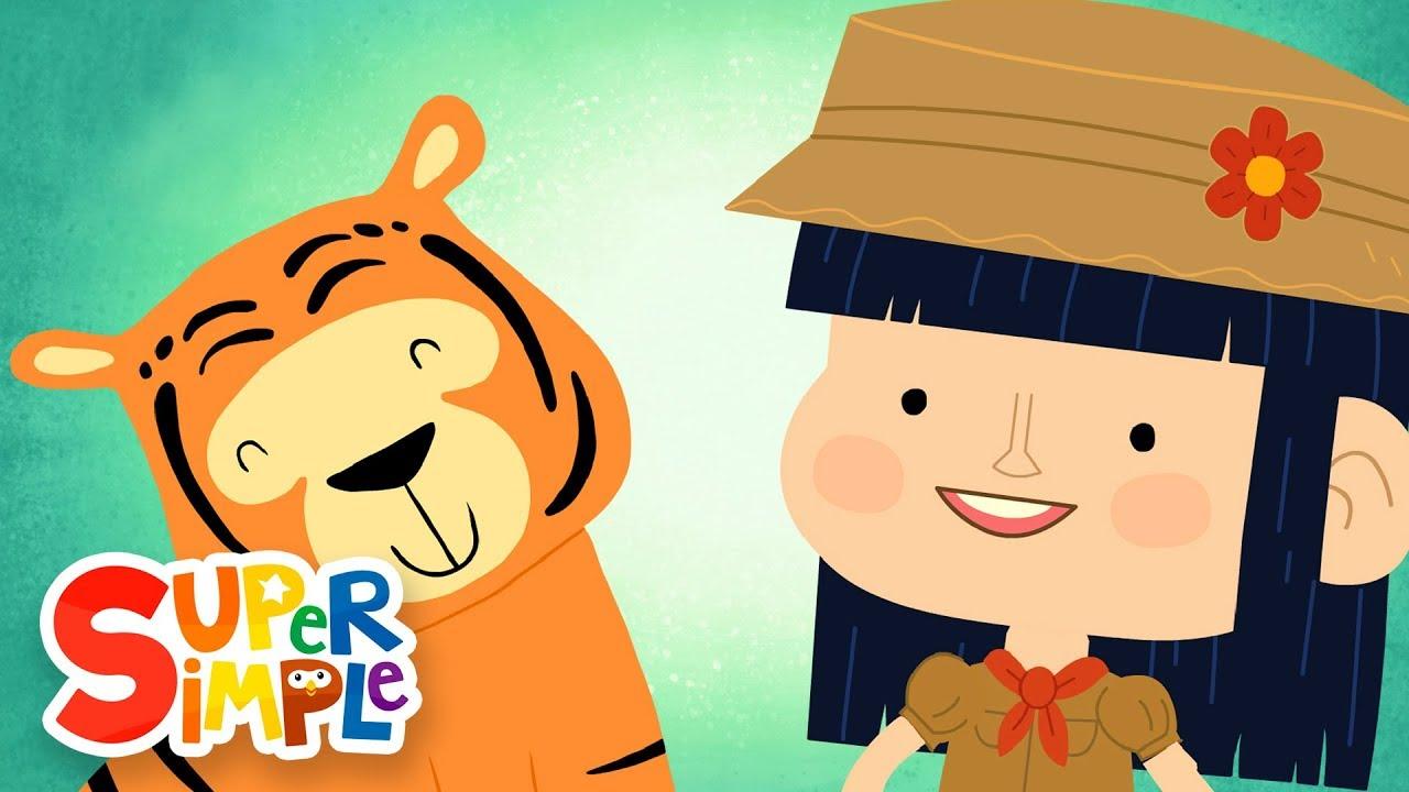 Wild Animal Songs for Kids.
