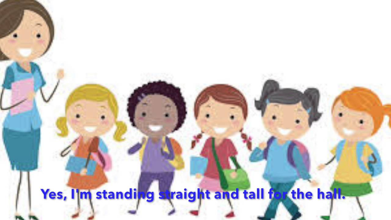 Walking in line clipart 5 » Clipart Station.