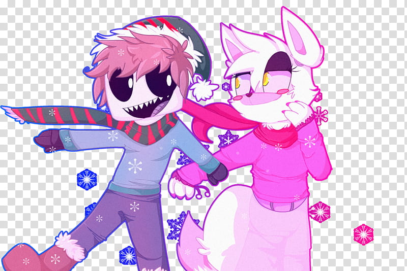 Walking in the Snow! (A.Mike And Mangle) transparent.