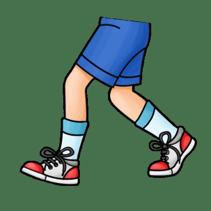 Walking legs clipart 3 » Clipart Portal.