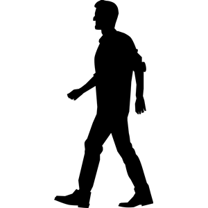 Walking Man clipart, cliparts of Walking Man free download (wmf, eps.