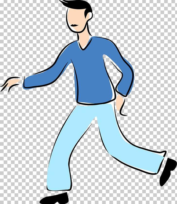 Walking Man PNG, Clipart, Arm, Big Man Cliparts, Blue, Cartoon.