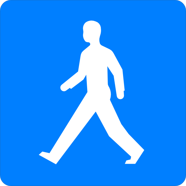 Walking Man Clip Art at Clker.com.