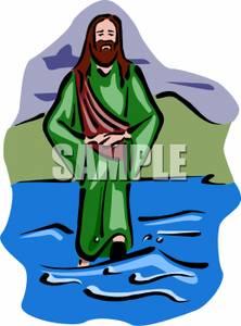 Art Image: Jesus Walking on Water.