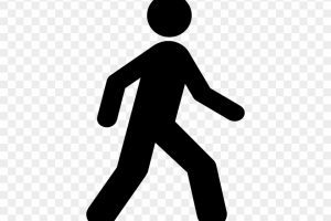 Walking person clipart 4 » Clipart Portal.