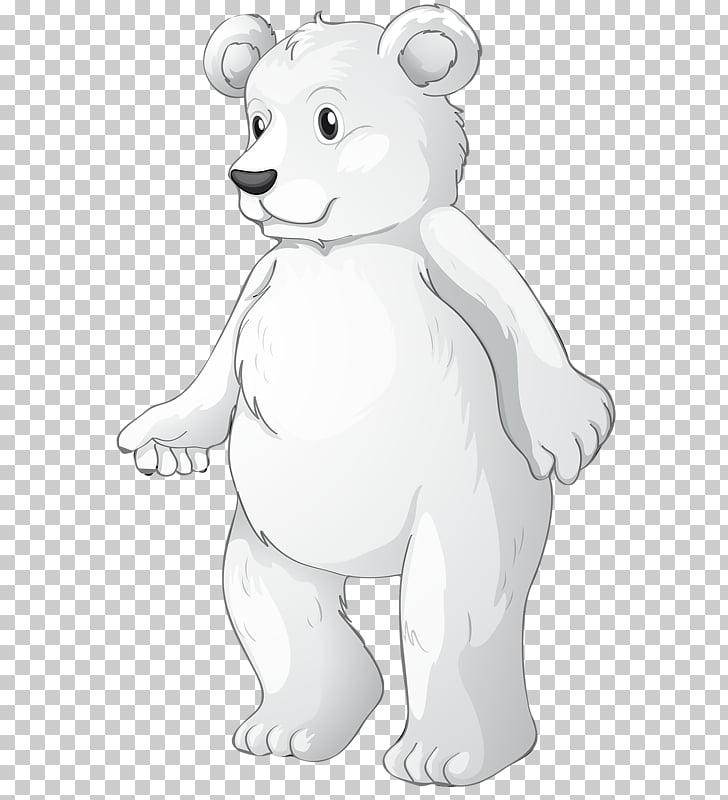 Polar bear American black bear Brown bear , Walking polar.