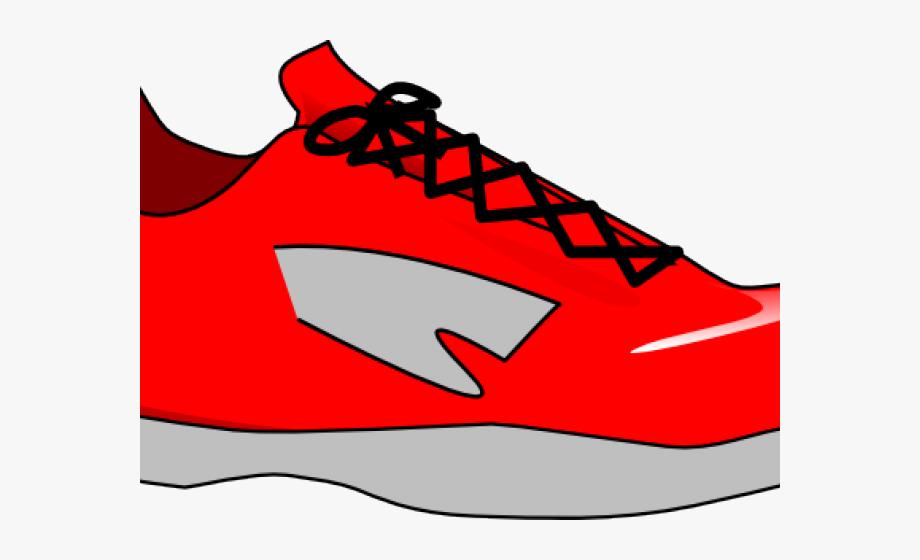 Running Shoes Clipart Walking Shoe.