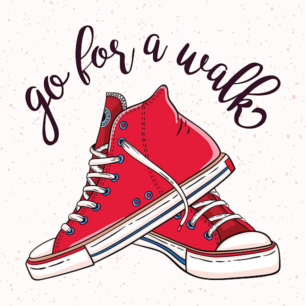 Top 60 Walking Shoes Clip Art, Vector Graphics and Illustrations.