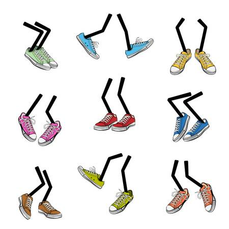 11,441 Walking Shoes Stock Illustrations, Cliparts And Royalty Free.