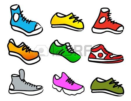 6,731 Walking Shoes Stock Illustrations, Cliparts And Royalty Free.