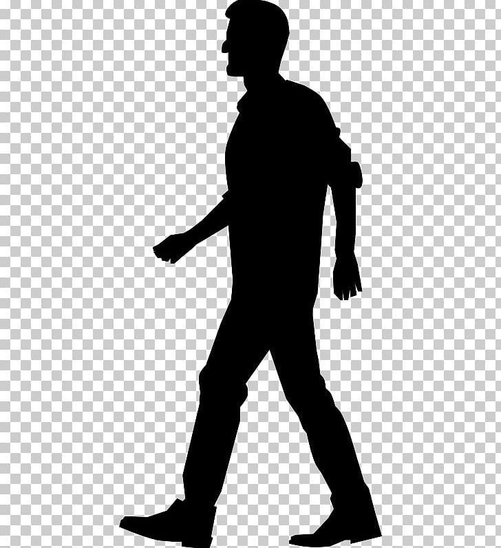 Walking Silhouette PNG, Clipart, Animals, Black, Black And White.