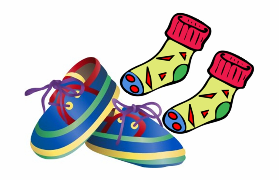 Socks And Shoes Clip Art.