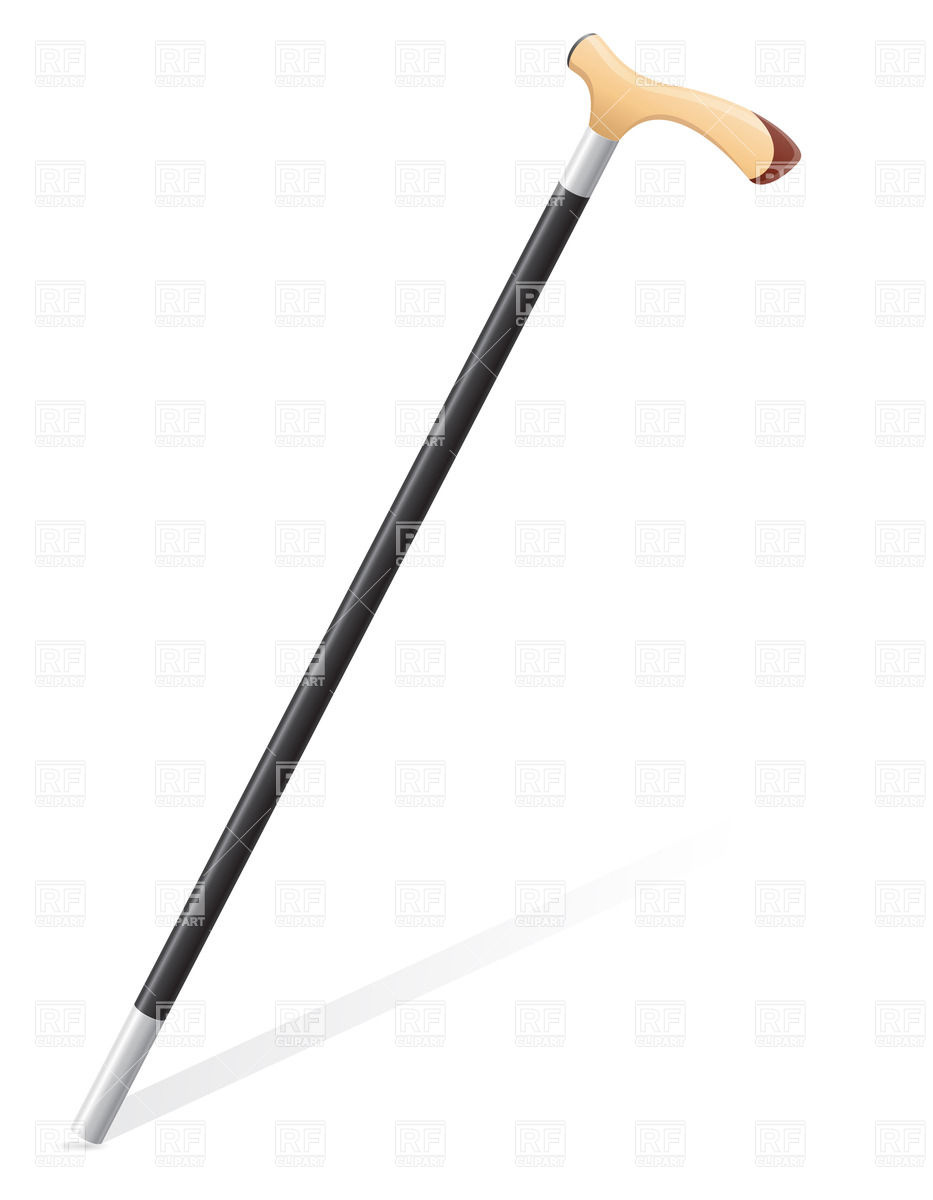 Walking Cane Clipart.
