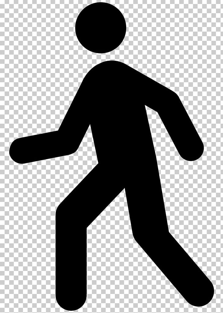 Computer Icons Walking PNG, Clipart, Area, Arm, Black, Black And.