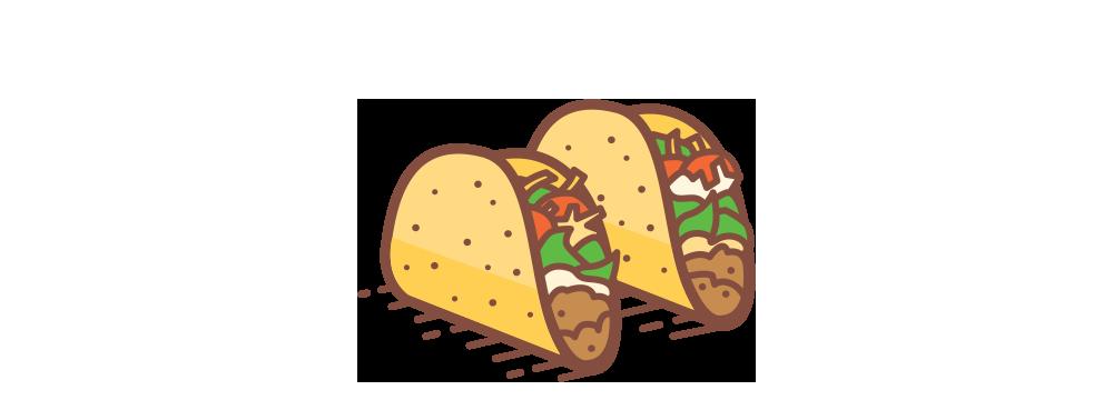 Tacos clipart walking taco, Tacos walking taco Transparent.