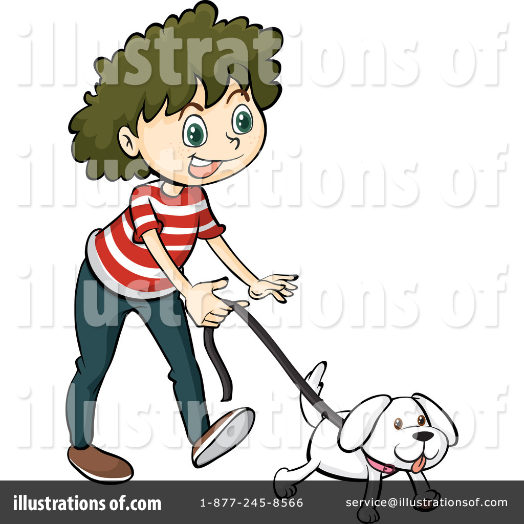 Walking Dog Clipart #1159663.
